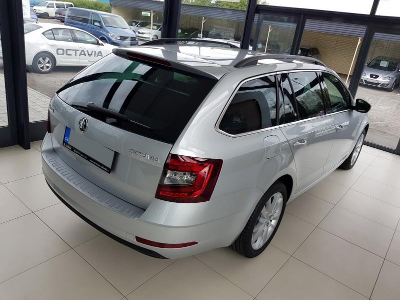 Škoda octavia iii combi facelift - ochranný panel zadního nárazníku